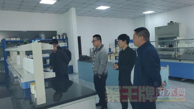 湖南省湘潭市龙湾名苑项目一行领导到我司考察交流