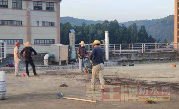 聚脲防腐施工的修补技术与操作方法
