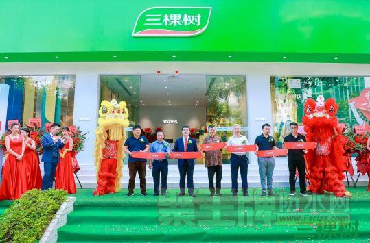 三棵树深圳直营旗舰店盛大开业,加速华南区域战略布局