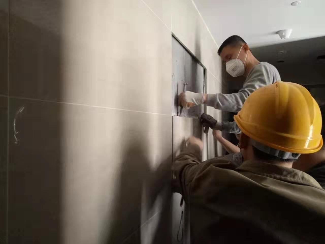 贴砖施工工艺 这样贴砖,能不掉吗?