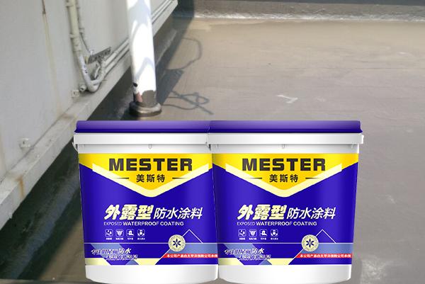 湖南常德用外露型防水涂料做旧屋面防水效果显著成本低