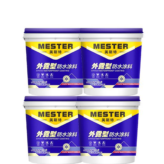 湖南郴州冬天做屋面防水就用外露型防水涂料效果干爽快